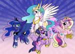 Alicorn Princesses