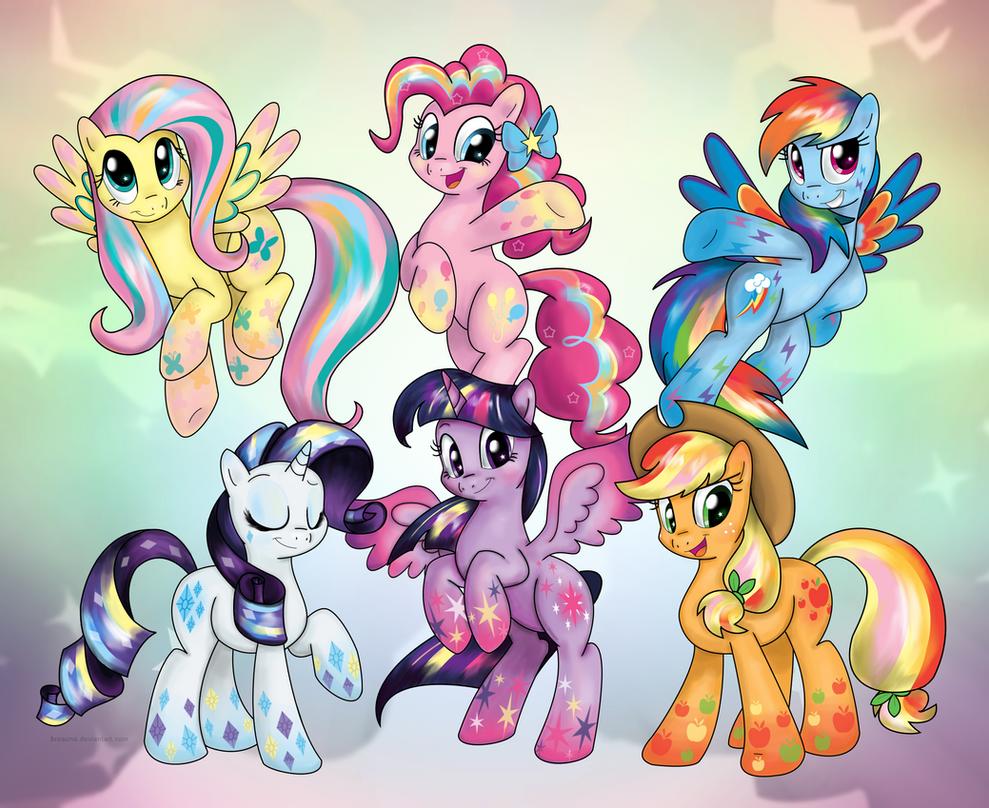 Rainbow Power by BSWPrecious