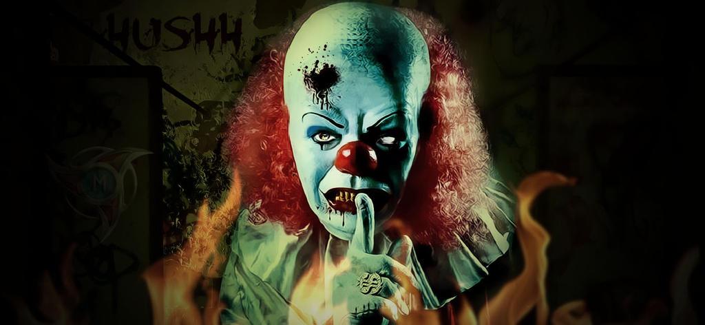 Evil Clown by ABOALSOF on DeviantArt