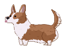 Pixel Corgy by Ikarus2