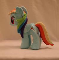 Rainbow Dash Plushie by Yukizeal