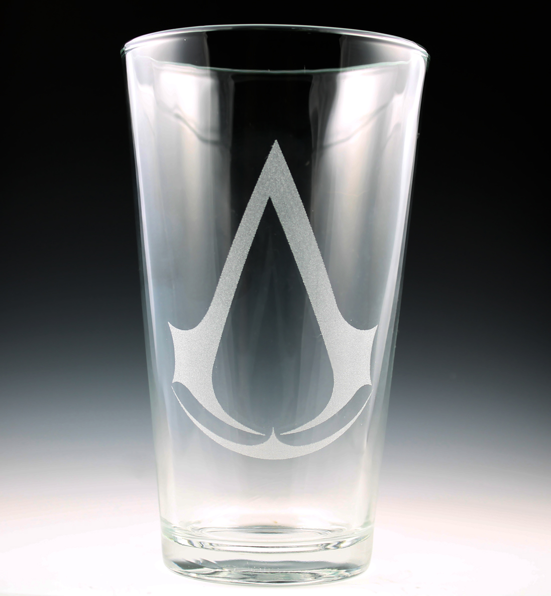 Assassin's Creed Pint Glass by Yukizeal