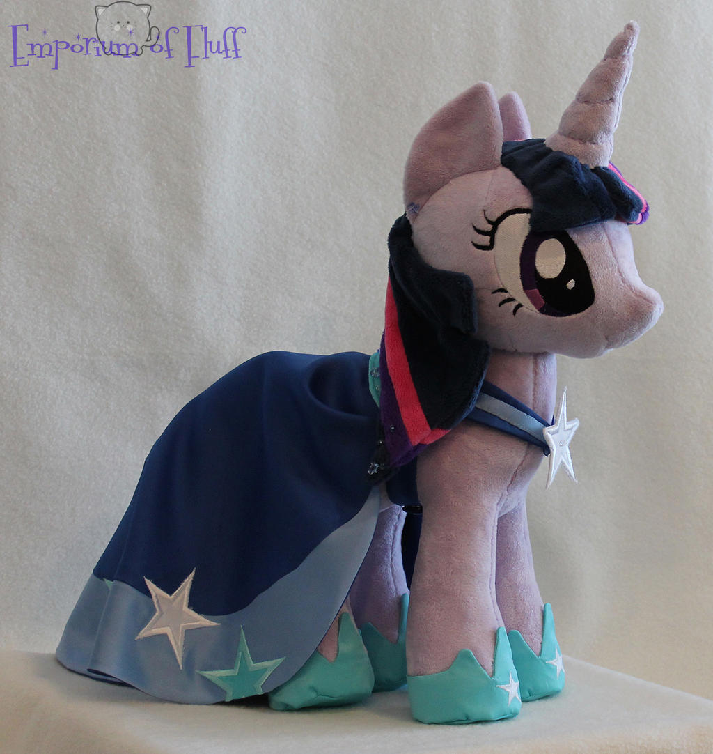 Gala Twilight Sparkle Plushie by Yukizeal