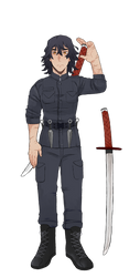 BNHA Villain: Hiro Ozawa by Jasonthethrid