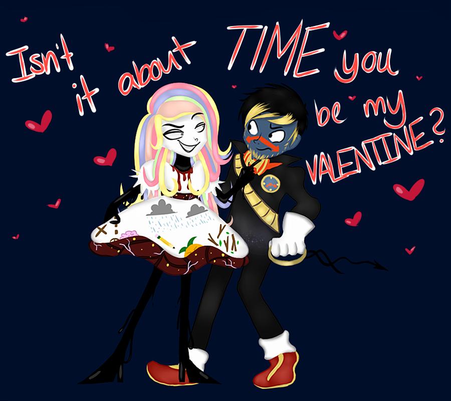 Padlock Valentine by ele-nah