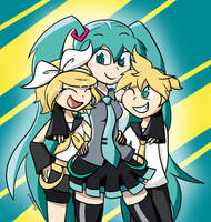 Vocaloid Squad by kara-kool