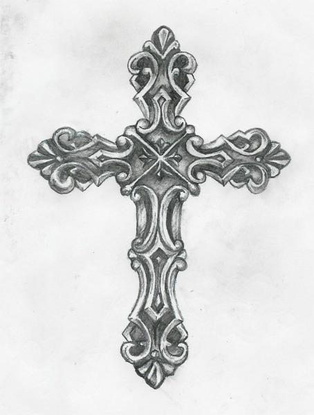 cross tattoo by Birdofflame on DeviantArt