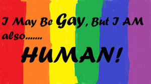 Gay, STILL HUMAN by poeticrhythms
