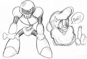 Rockman 4 - Skeleton Joe