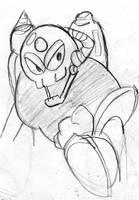Rockman 3 - Doc Robot by Mega-Matt-X
