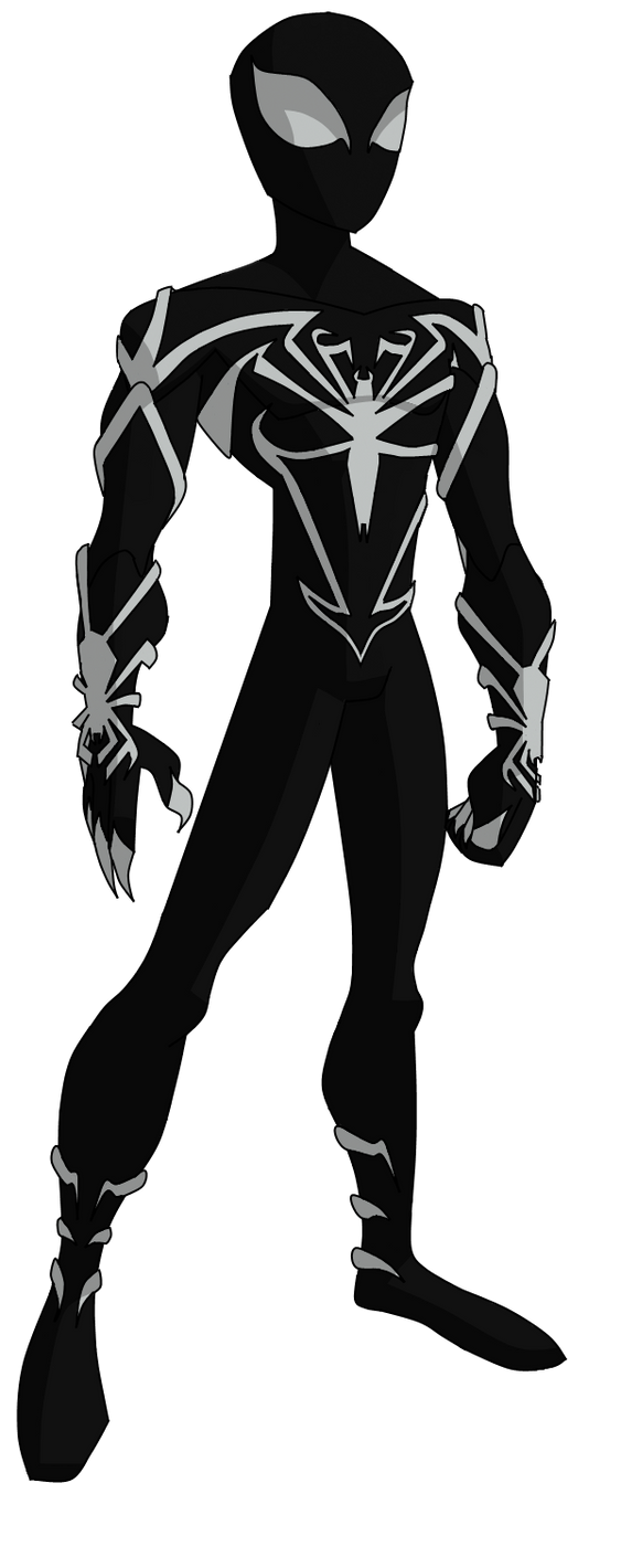 Spider Man Unlimited Coloring Pages. Spectacular Spider Man Unlimited Black Suit by ValrahMortem  on