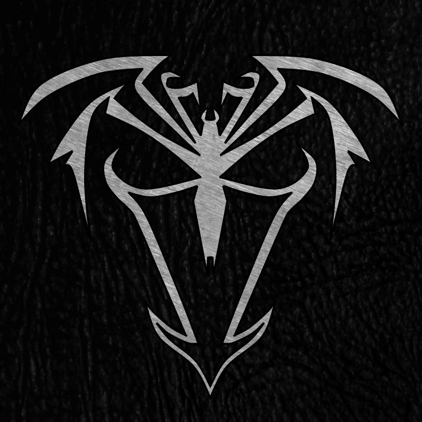 Venom spiderman symbol drawing - photo#15