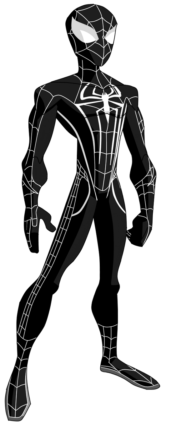 The amazing spider man black suit - photo#7