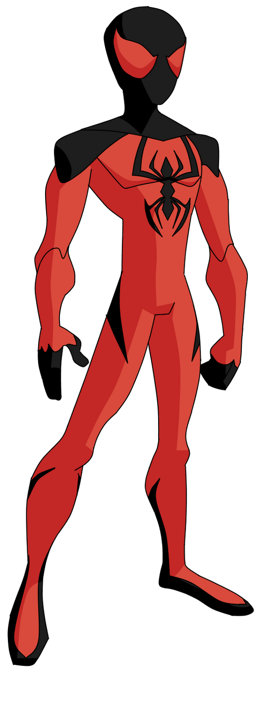 The Spectacular Kaine Scarlet Spider by ValrahMortem