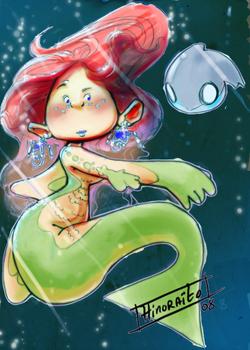 Copic Mermaid