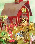 MLP FIM: Sweet Apple Acre - Applejack's family