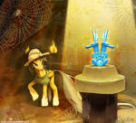 MLP FIM - Daring-Do - Read it and weep!