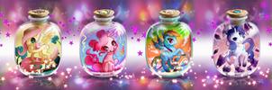 MLP FIM: Bottle Pony