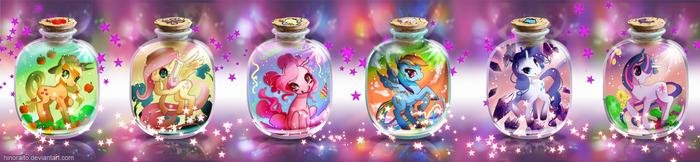 MLP FIM: Bottle Pony by hinoraito
