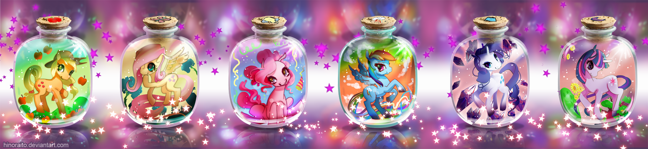 MLP FIM: Bottle Pony by hinoraito