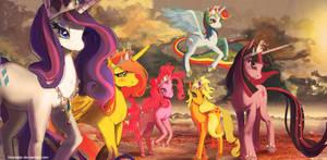Mane 6 princesses