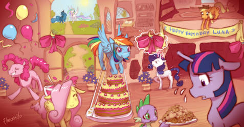 MLP FIM: Choose your own adventure - Part 1 by hinoraito
