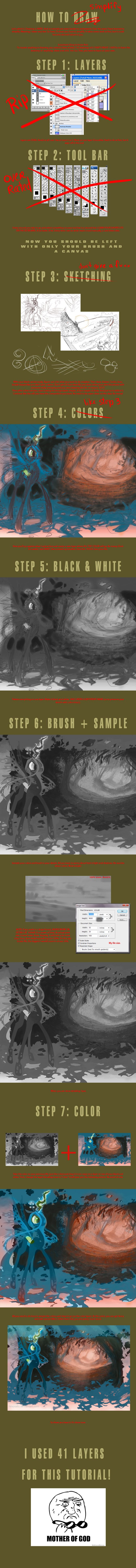 How to draw... or how to simplify by hinoraito