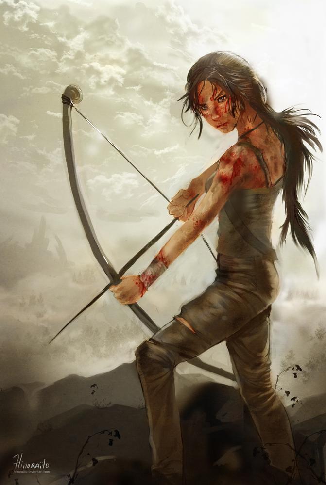 Lara Croft - A legend is born by hinoraito