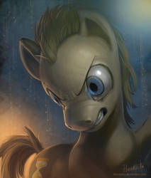 MLP FIM: Dr. Hooves Portrait by hinoraito