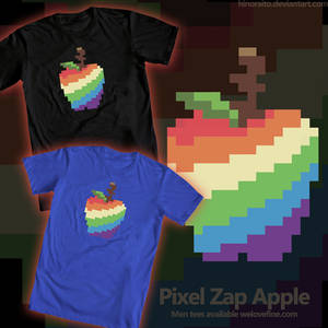 Pixel Zap Apple - welovefine tee