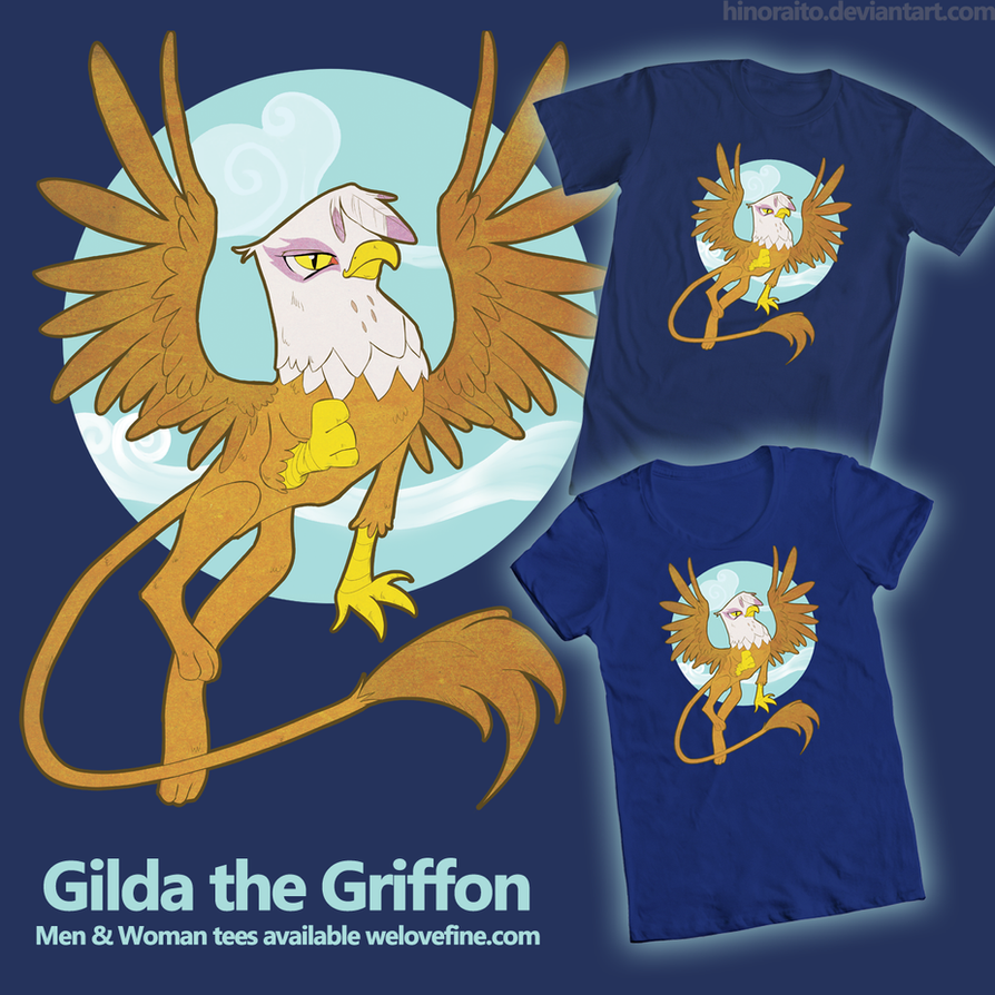 MLP FIM: Gilda the Griffon - sold on welovefine by hinoraito