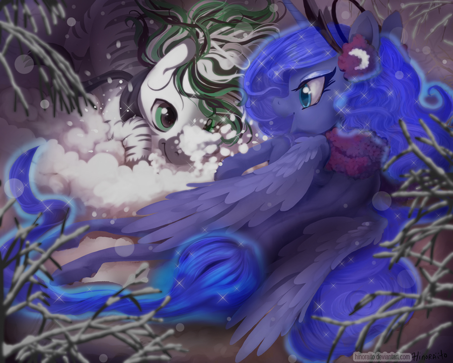 MLP FIM: Commission for Hyperfreak666 by hinoraito