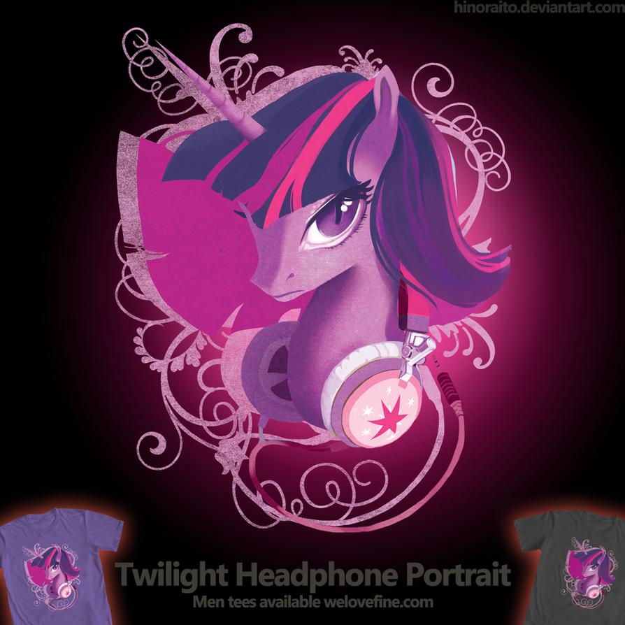 Welovefine: MLP FIM - Twilight Sparkle Headphone by hinoraito