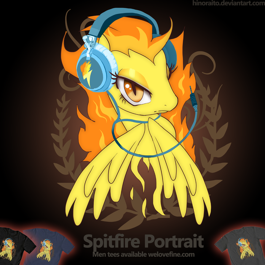 Spitfire Headphone Portrait by hinoraito