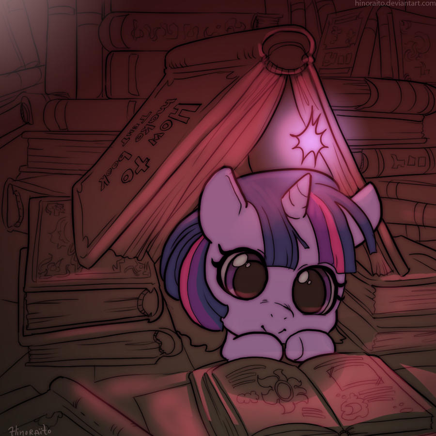 MLP FIM: Baby Twilight Sparkles by hinoraito