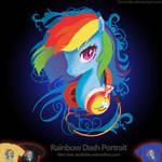 Welovefine: MLP FIM - Rainbow Dash Headphone