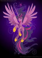 mlp fim: Alicorn Twilight- The power of magic by hinoraito