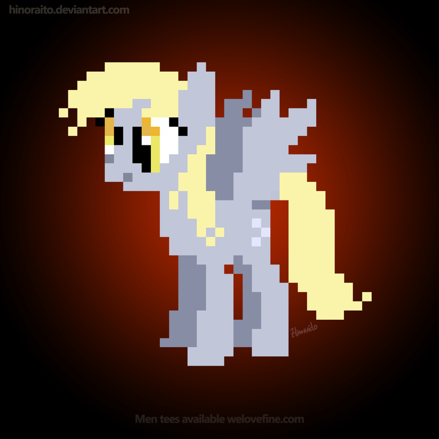 MLP FIM: Derpy 8bit shirt - Welovefine by hinoraito