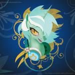 MLP FIM: Lyra Headphone Portrai shirt - Welovefine