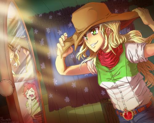 Equestria Girls - Applejack - Ready?