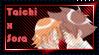 Sora x Taichi Stamp by L3xil3in