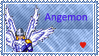 Angemon Stamp by L3xil3in