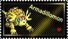 Armadillomon Stamp by L3xil3in