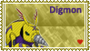 Digmon Stamp by L3xil3in