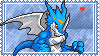 ExVeemon Stamp by L3xil3in