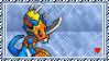 Flamedramon Stamp