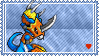 Flamedramon Stamp by L3xil3in