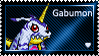 Gabumon Stamp by L3xil3in