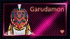 Garudamon Stamp by L3xil3in