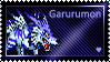 Garurumon Stamp by L3xil3in